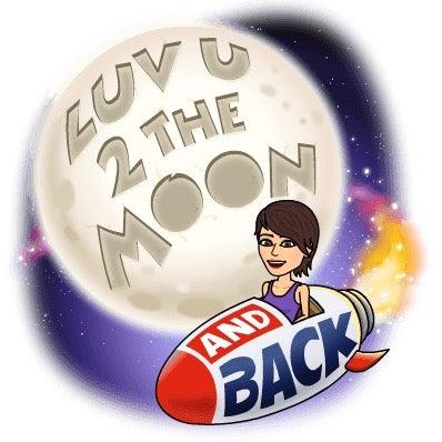 英語で愛のフレーズ i love you to the moon and back