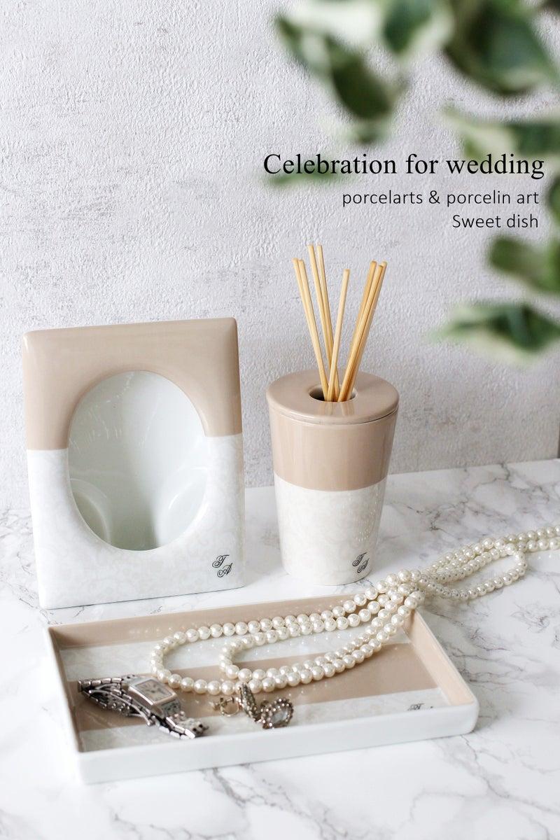 ポーセラーツ 結婚祝い オーダーメイド 大阪新大阪