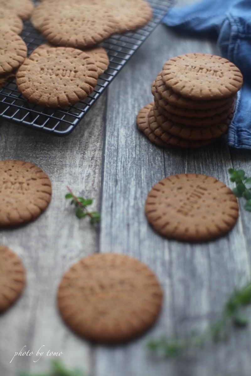 セリアの型で THANKS ジンジャーブレッドクッキー☆