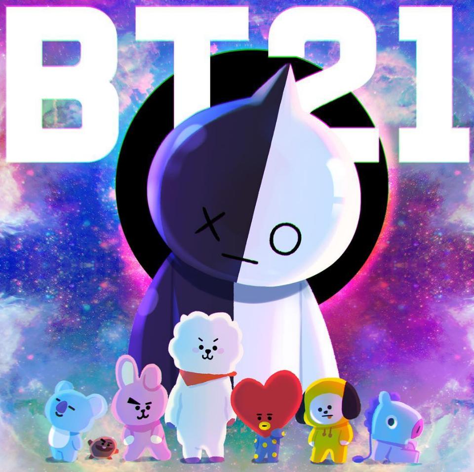 【防弾少年団】バンタンの新キャラクター『BT21』