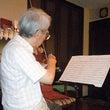 バイオリン弾いてます