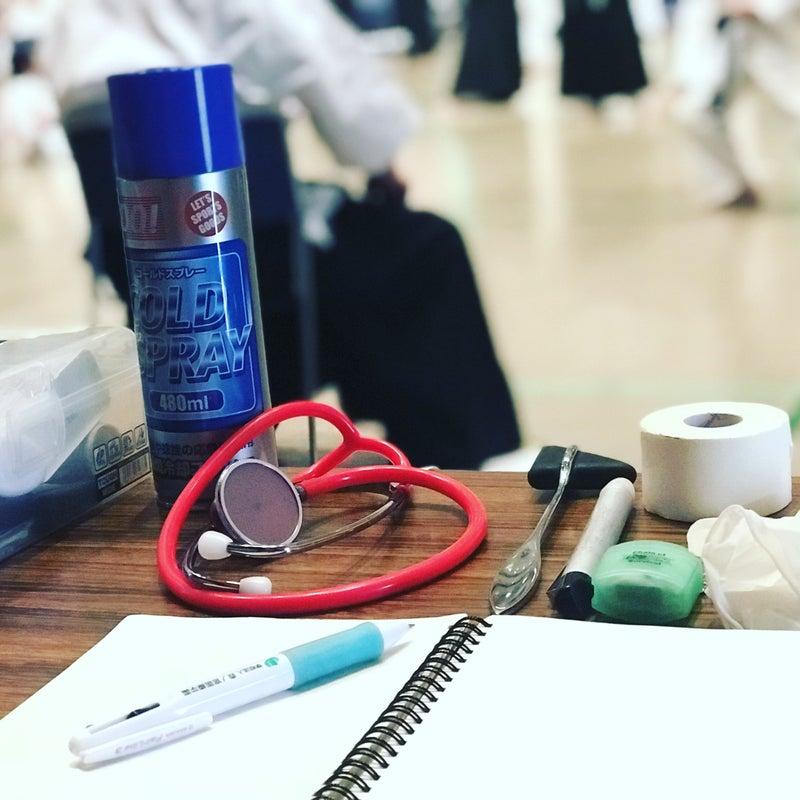 救護班として参加した月心会の空手大会