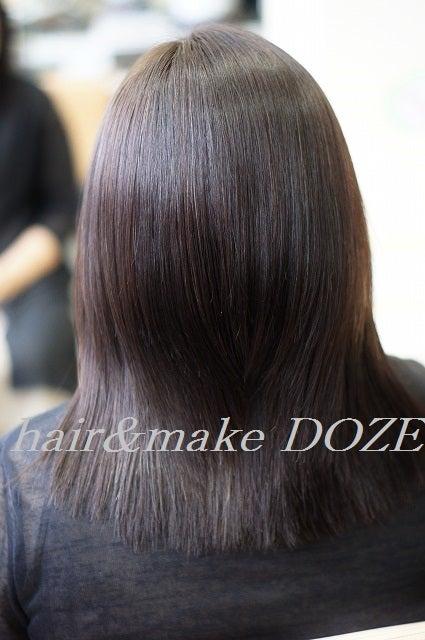 縮毛、クセ毛でお悩みの方に!DOZE縮毛矯正。