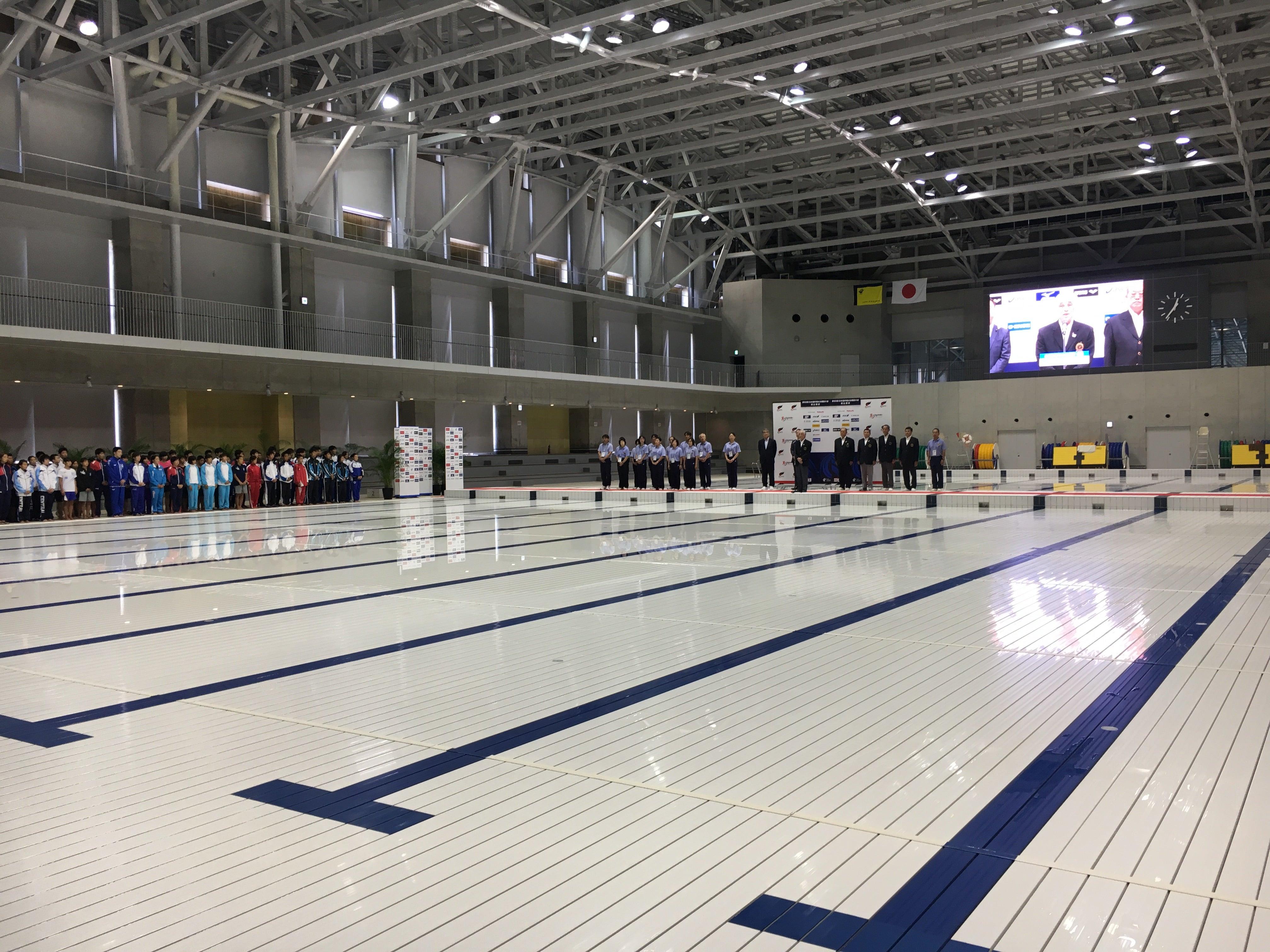 第93回日本選手権水泳競技大会飛込競技開始式 | 山野ゆきよし日記