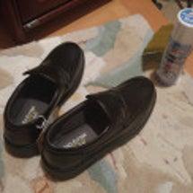 靴を買い替え
