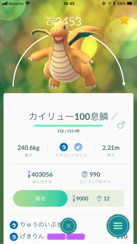 Go カイリュー ポケモン