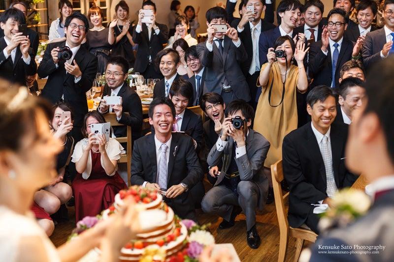次回は、披露宴パーティーの後半の様子の写真をご紹介します。