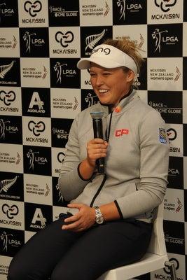 マッケイソン・ニュージーランド女子オープン ブルックヘンダーソン