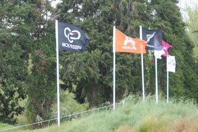 マッケイソン・ニュージーランド女子オープン フラッグ