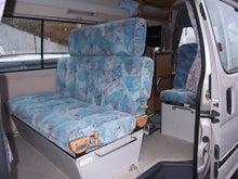 キャンピングカー イースピリット 4WD 内装