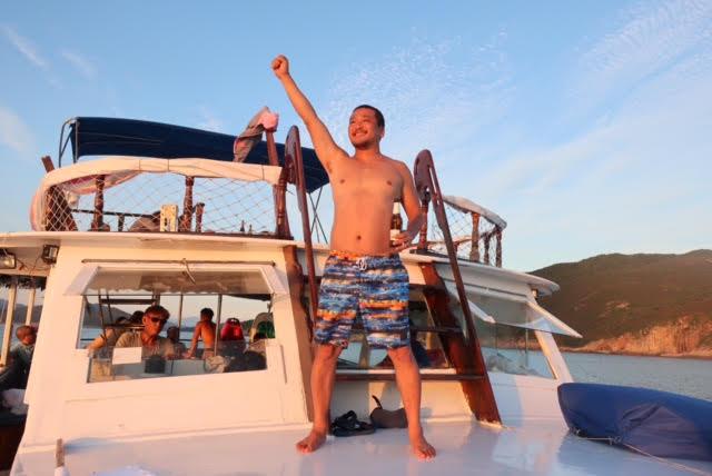 香港ボートパーティー28