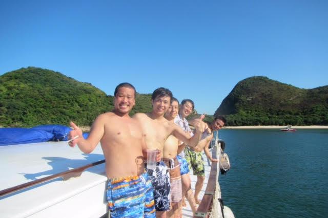 香港ボートパーティー20
