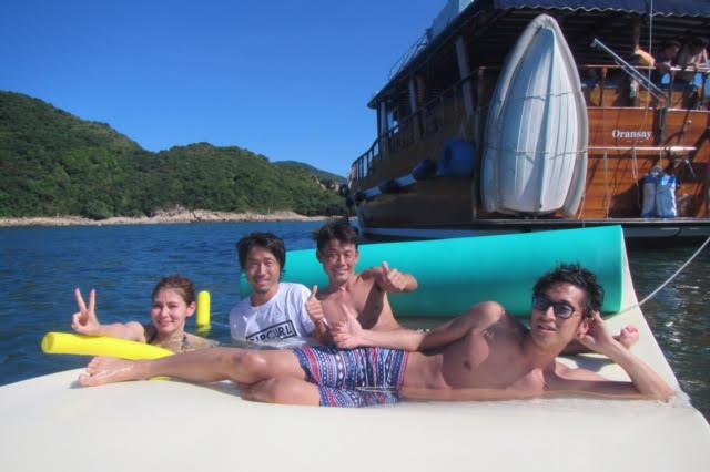 香港ボートパーティー15