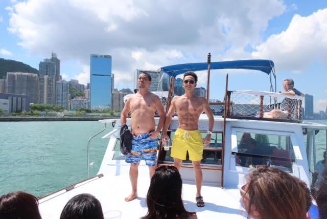 香港ボートパーティー5
