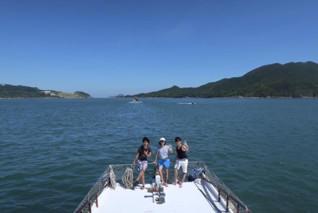 香港ボートパーティー9