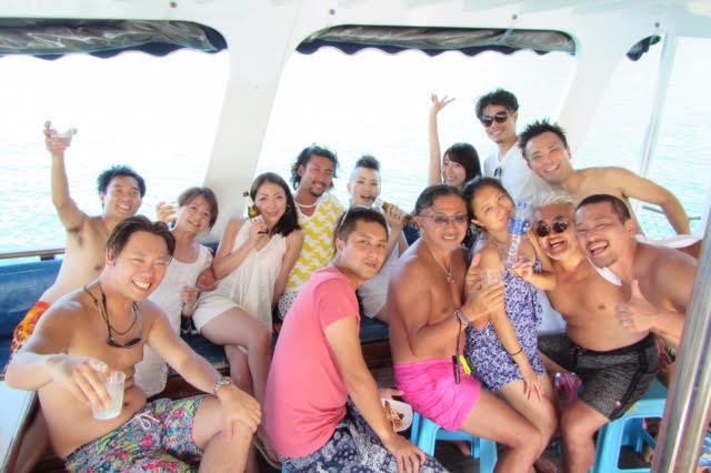香港ボートパーティー19