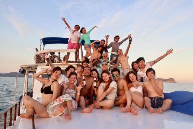 香港ボートパーティー30