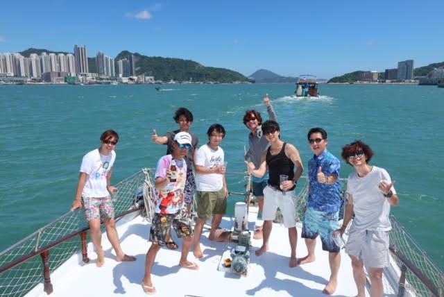 香港ボートパーティー7