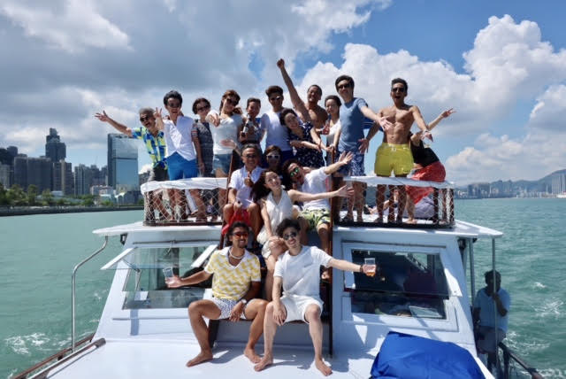 香港ボートパーティー6