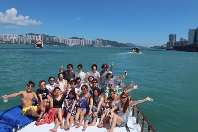 香港ボートパーティー4