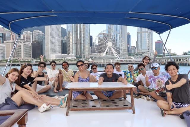 香港ボートパーティー2