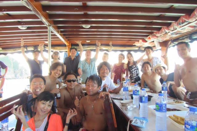香港ボートパーティー12