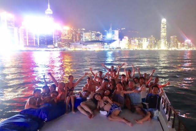 香港ボートパーティー36