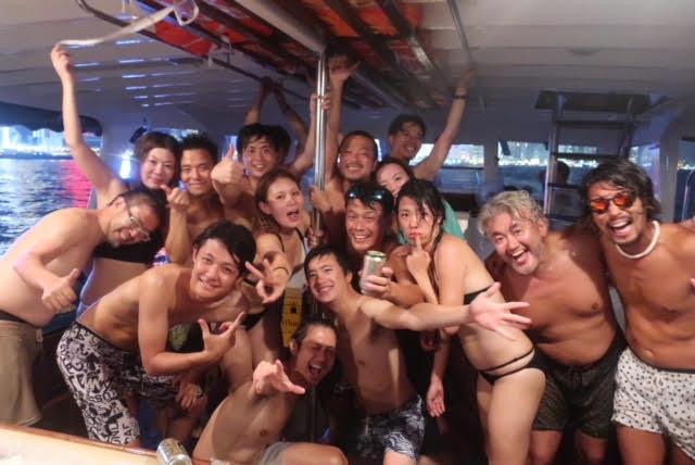 香港ボートパーティー35
