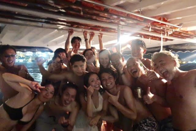 香港ボートパーティー34