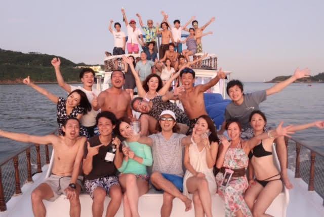 香港ボートパーティー32