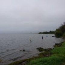 恒例!琵琶湖バス釣り…