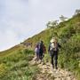 「唐松岳〜五竜岳を歩…