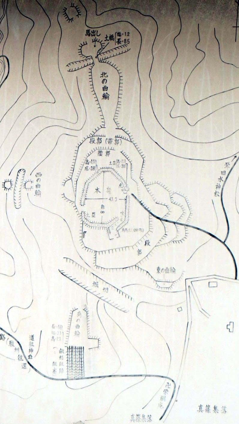 【図】真篠砦
