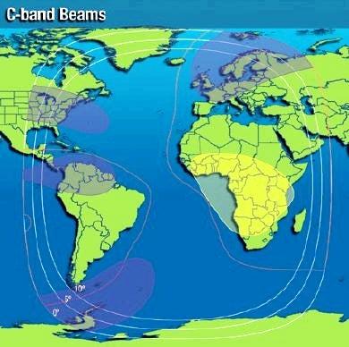 Intelsat-37e-Cバンドフットプリントマップ