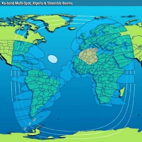 Intelsat-37e-KuバンドMulti-Spotフットプリントマップ