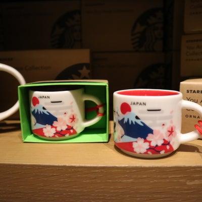 スタバの日本マグ You Are Here Collectionの記事に添付されている画像