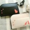 ■お散歩に便利な簡易財布!猫のSUNぽけっと(オーダーメイド作品)の画像