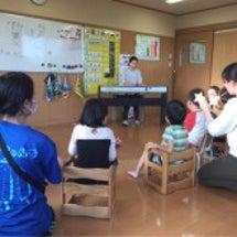 音楽療法を勉強中の受…