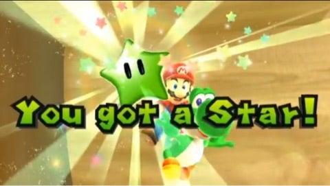2 グリーン スーパー スター ギャラクシー マリオ