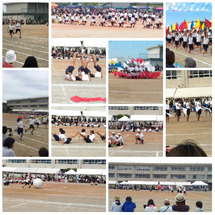 小学校の運動会♬