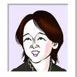 田中裕子さんの似顔絵