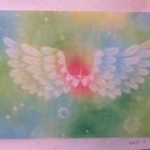羽根アート体験会と1…