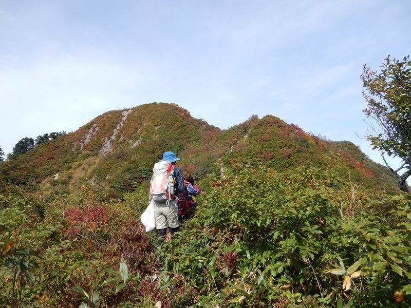 秋晴れに奈良岳までプチ縦走へ①...