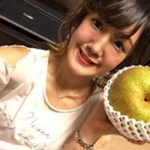 おおーーーきい梨。