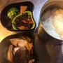 ホッケの干物弁当