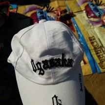 気合いの帽子と、うさ…