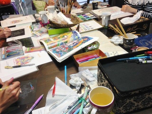 仏画体験教室