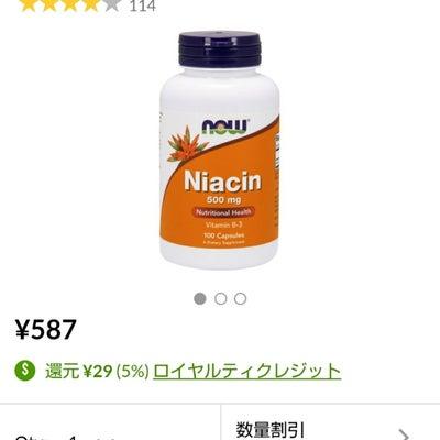 藤川先生のナイアシン関連記事まとめの記事に添付されている画像