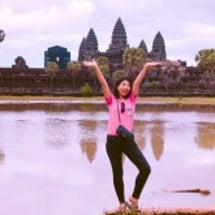 カンボジア女子大生と…