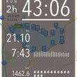 人生初!21.1km…